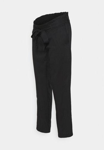 PANTS DENVER - Trousers - black