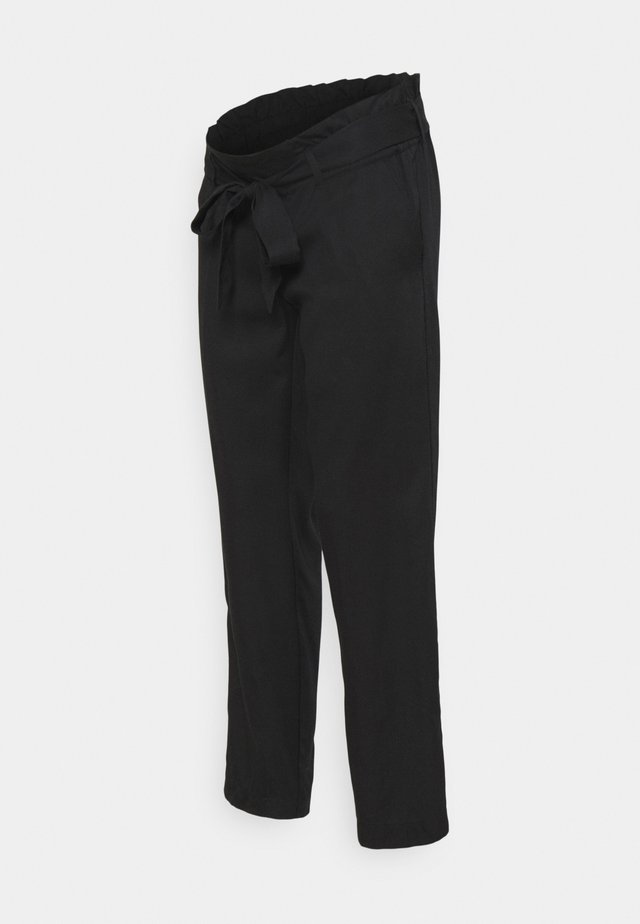 PANTS DENVER - Trousers - black