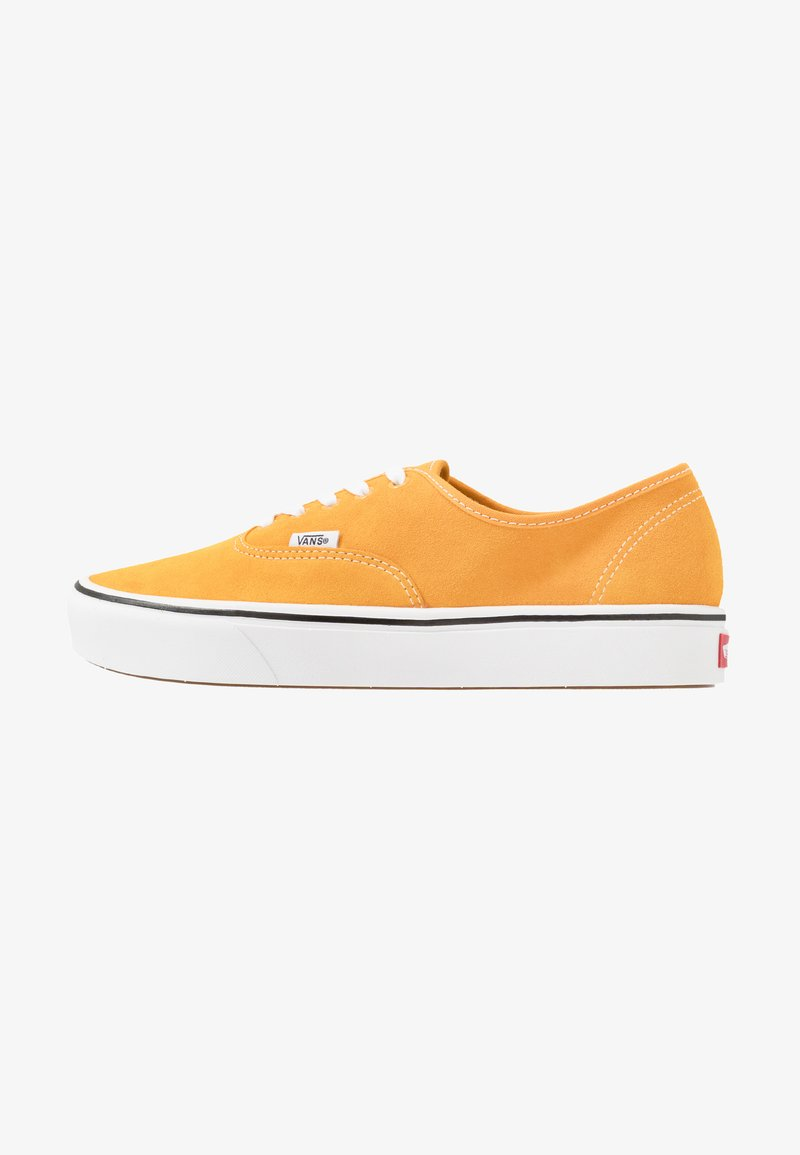 Vans - COMFYCUSH AUTHENTIC - Skateboardové boty - cadmium yellow/true white