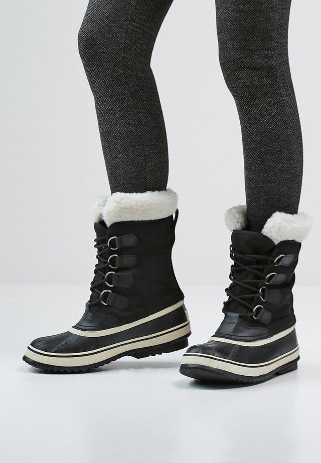 WINTER CARNIVAL - Winter boots - black stone