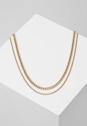 MODULE NECKLACE - Halsband - gold-coloured