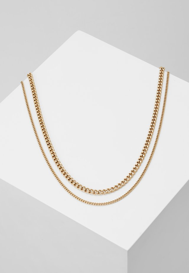 MODULE NECKLACE - Collar - gold-coloured