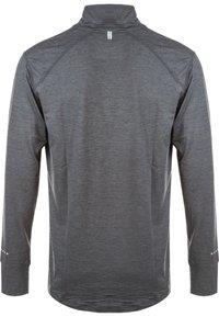 Endurance - TUNE MELANGE MIDLAYER - Sports shirt - grey - 1