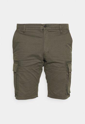 CARGO - Shorts - khaki/oliv