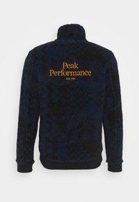 Peak Performance - ORIGINAL PILE ZIP - Fleece jacket - blue - 1
