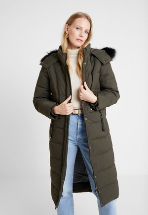 Winter coat - dark khaki