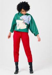 Solai - ABSTRACT FACES  - Light jacket - evergreen - 1