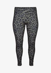 Zizzi - Leggings - Trousers - grey - 3
