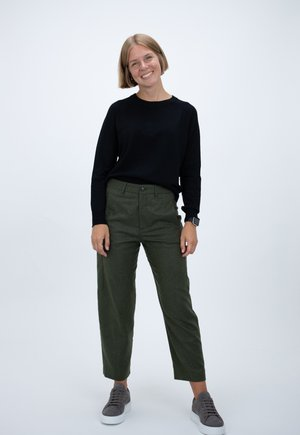 LUDWIG - Trousers - green