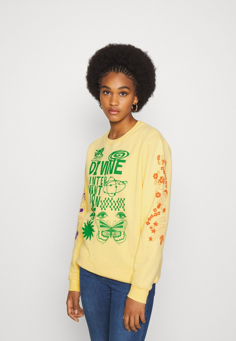 NEW girl ORDER - DINVINE INTENTIONS - Bluza - yellow