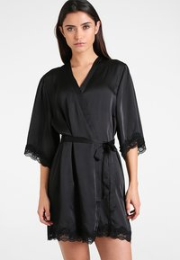 Anna Field - Dressing gown - black - 0