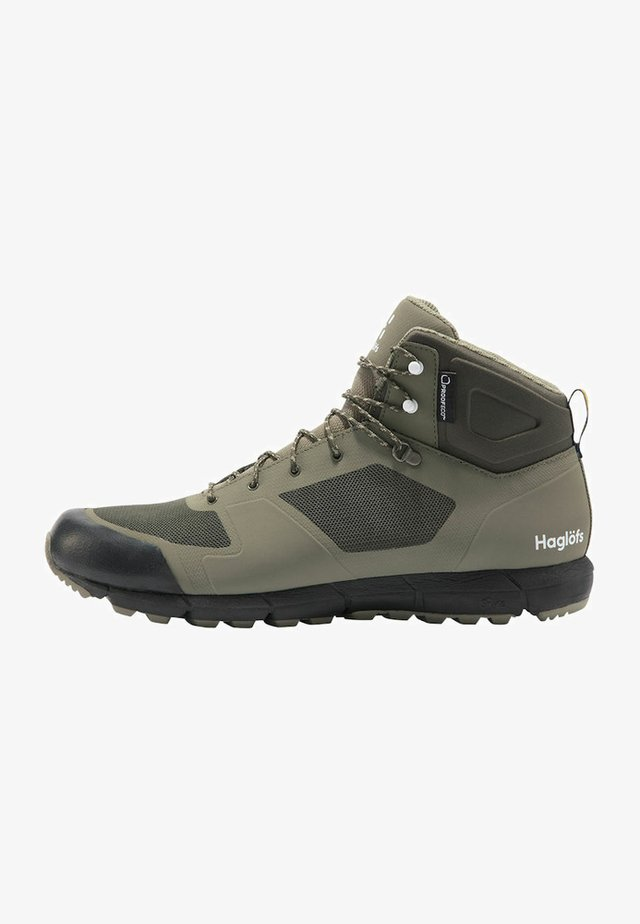 L.I.M MID PROOF ECO  - Hiking shoes - sage green/deep woods