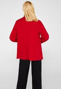 Esprit Collection - MIT NEUEM SMOKING - Blazer - dark red - 2