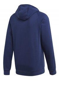 adidas Performance - CORE 19 HOODIE - veste en sweat zippée - blue - 11