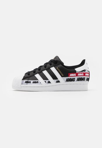SUPERSTAR UNISEX - Sneakers - core black/footwear white/gold metallic