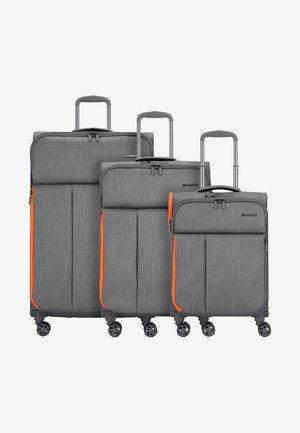 3 SET - Set di valigie - grey brushed