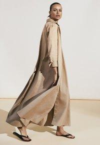 Massimo Dutti - Maxi dress - beige - 3