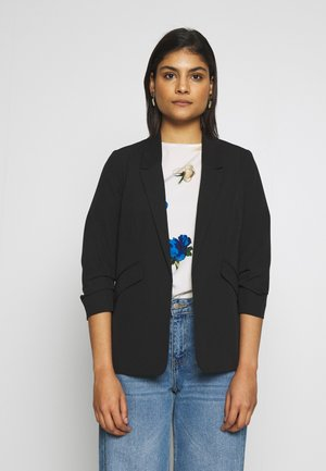 EDGE TO EDGE JACKET - Bleiseri - black
