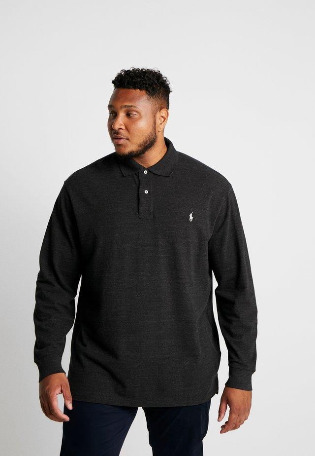 BASIC - Poloshirt - black marl heather