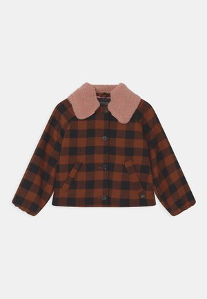 CHECKED  - Light jacket - brown