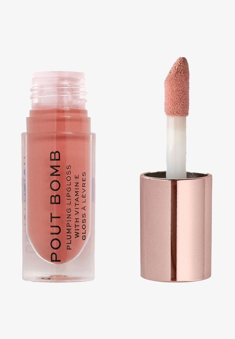 Make up Revolution - POUT BOMB PLUMPING GLOSS LIPGLOSS - Gloss - kiss