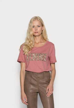 RORY - Print T-shirt - withered rose