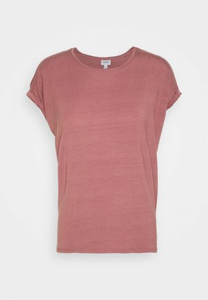 VMAVA PLAIN - T-shirts - rose brown