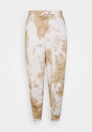 SIGNATURE TIE DYE UNISEX - Pantaloni sportivi - white
