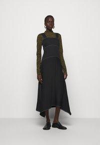 Proenza Schouler White Label - RUMPLED DRESS - Robe d'été - black - 1