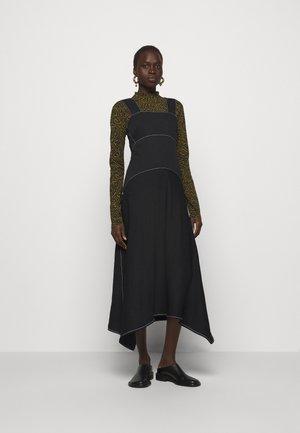 RUMPLED DRESS - Vestito estivo - black