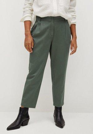 NEWPEPI - Trousers - khaki