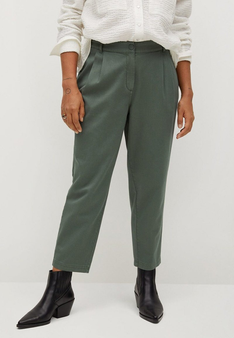 Violeta by Mango - NEWPEPI - Trousers - khaki