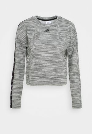Sweatshirt - medium grey heather/black
