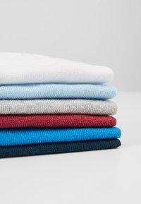 TOM TAILOR - SNEAKER UNI BASIC  12 PACK - Strumpor - white/light blue/grey - 2