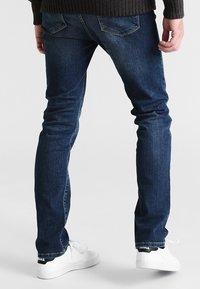 Pier One - Straight leg jeans - washed dark blue - 2