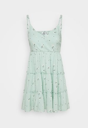 BARE FEMME SHORT DRESS - Day dress - mint