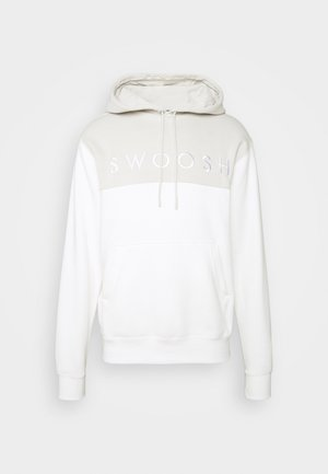 HOODIE - Bluza z kapturem - light bone/sail