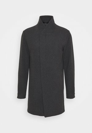 JJECOLLUM COAT  - Mantel - dark grey melange
