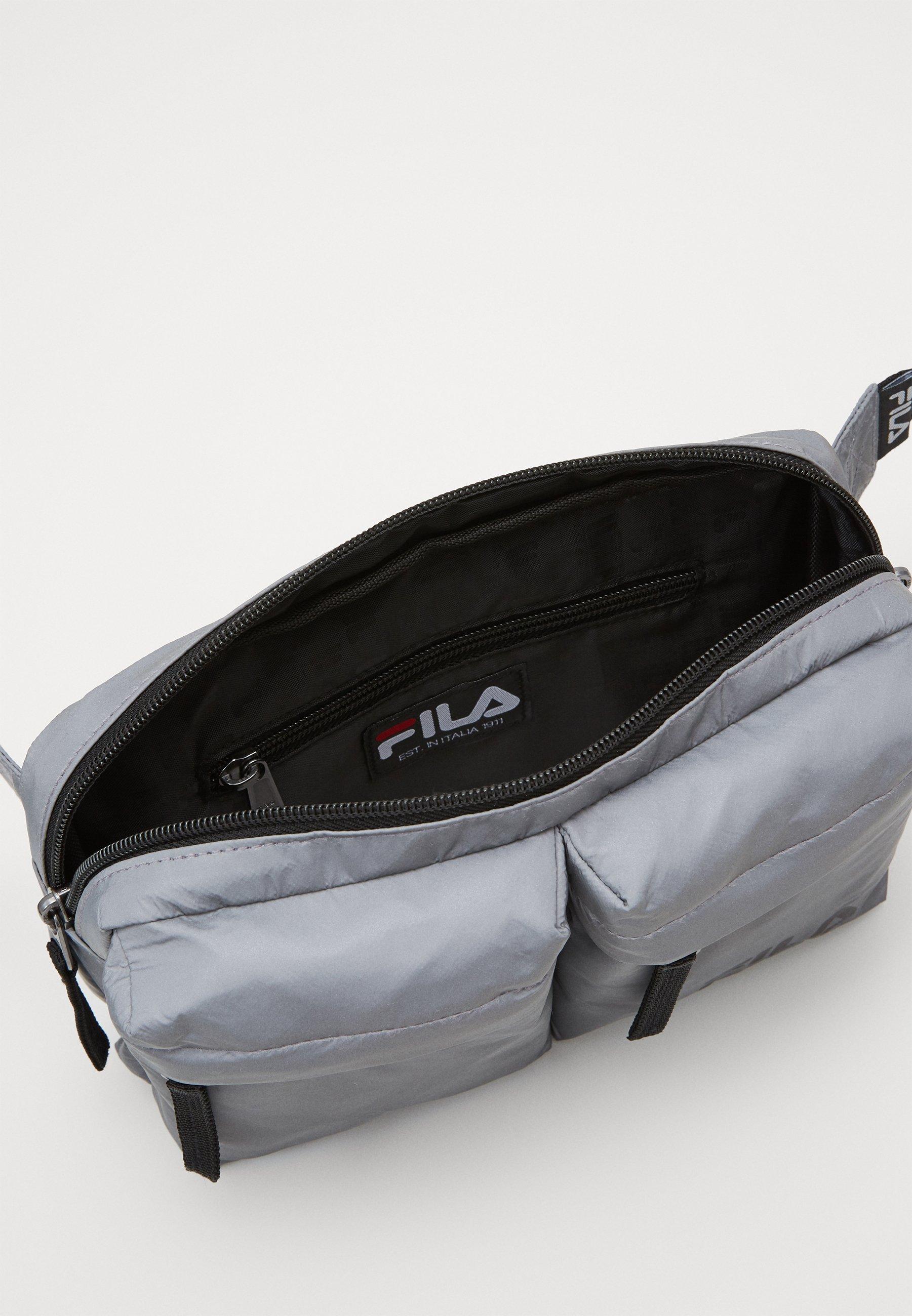 Fila WAIST BAG - Rumpetaske - silver/sølv oUHf4XnKAHcKgEn