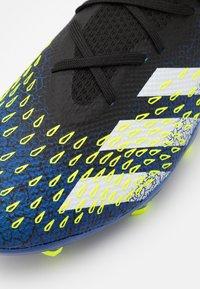adidas Performance - PREDATOR FREAK .3 FG - Fotbollsskor fasta dobbar - core black/footwear white/solar yellow - 5