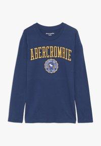 Abercrombie & Fitch - TECH LOGO  - Långärmad tröja - blue - 0