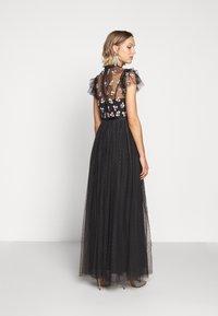Needle & Thread - ROCOCO BODICE MAXI DRESS EXCLUSIVE - Společenské šaty - champagne/black - 2