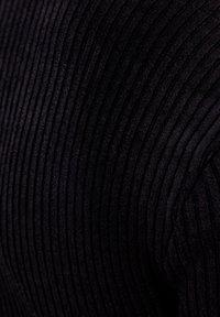 Bershka - Strikjakke /Cardigans - black - 5
