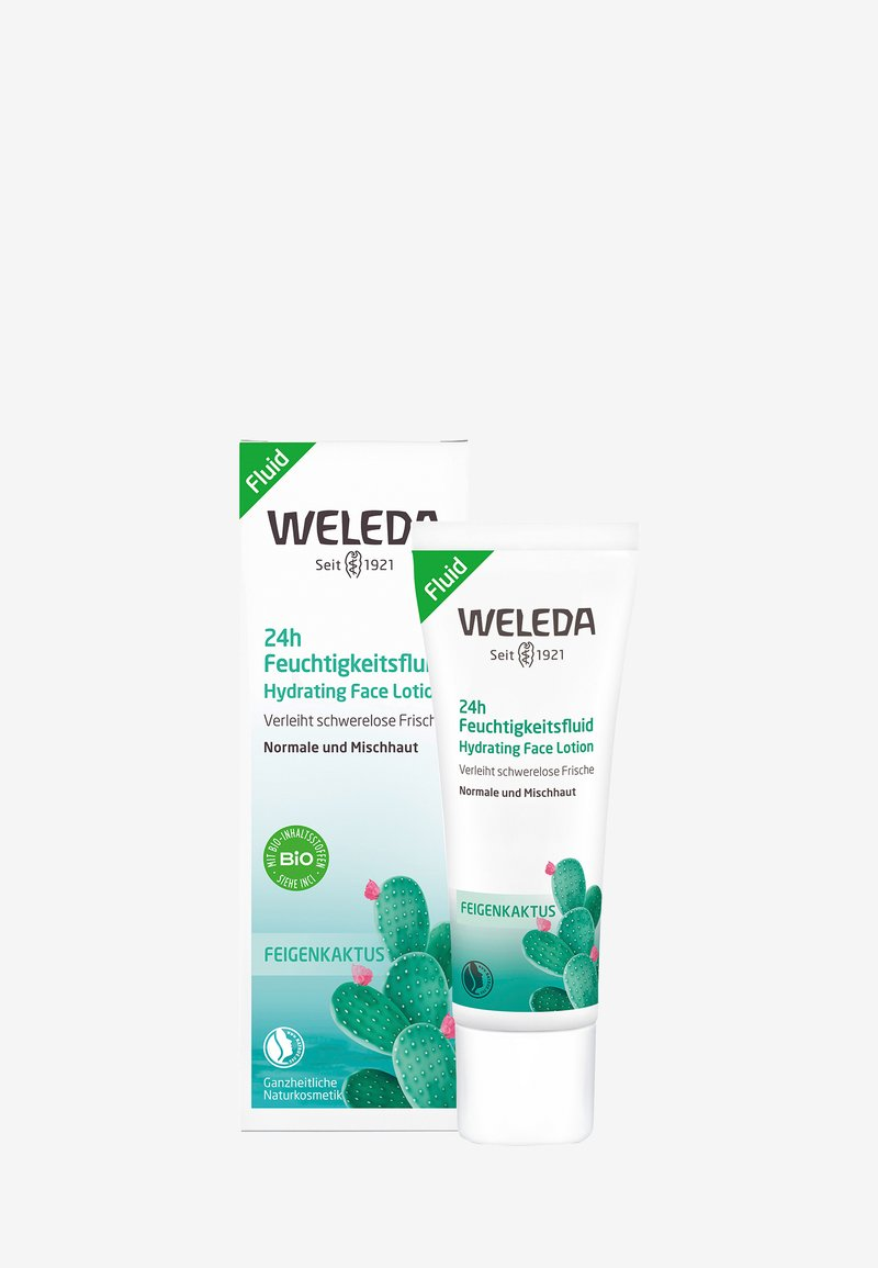 Weleda - PRICKLY PEAR 24H HYDRATING FACE LOTION - Face cream - -