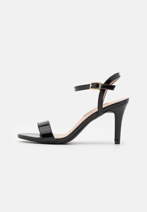 SIZZLE 2 PART SKINNY - Sandals - black