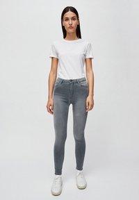 ARMEDANGELS - TILLAA X STRETCH - Jeans Skinny Fit - asphalt grey - 0