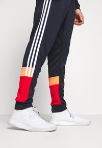 adidas Performance - 3STRIPES AEROREADY ATHLETICS SPORT TRACKSUIT - Verryttelypuku - dark blue - 5