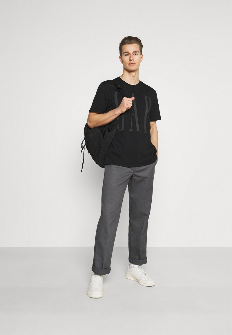 GAP - 2 PACK - Print T-shirt - black/white