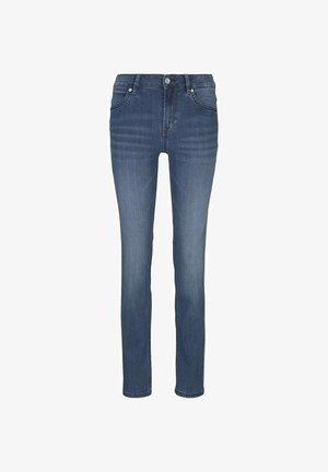 MIT STRETCH - Slim fit jeans - mid stone wash denim