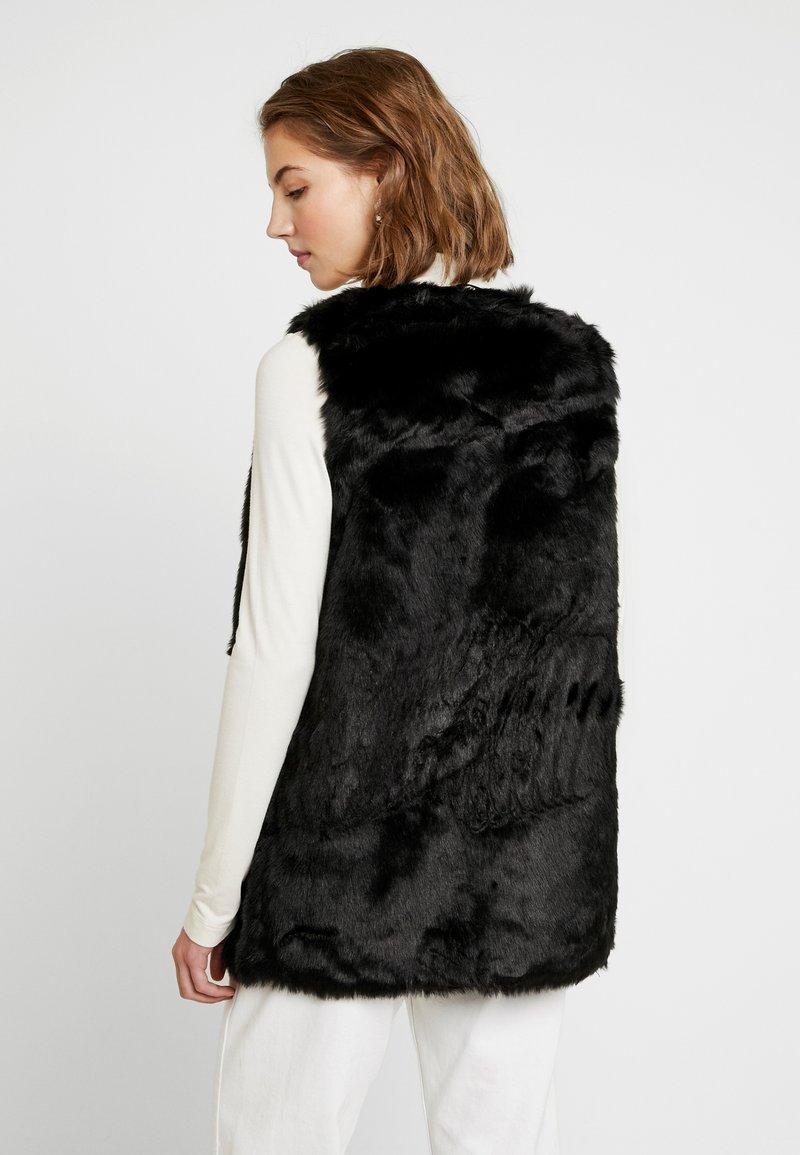 New Look - ASHANTI GILET - Vesta - black